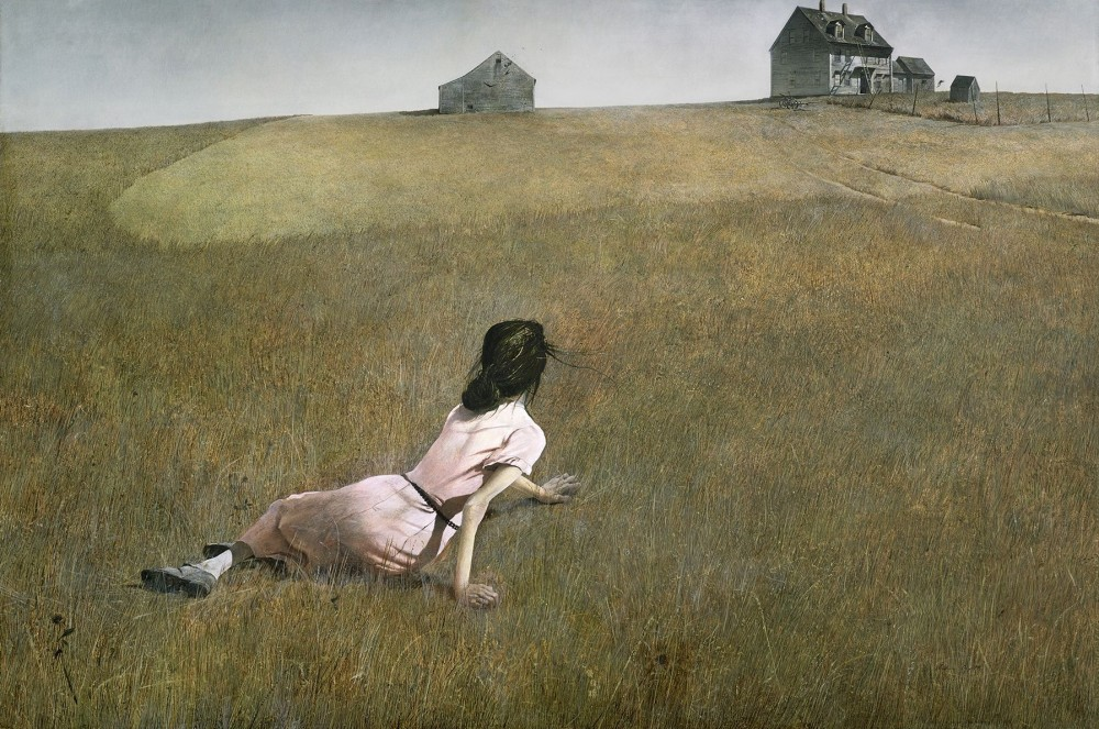 Christina's World, by Andrew Wyeth (1948). The Museum of Modern Art, NY