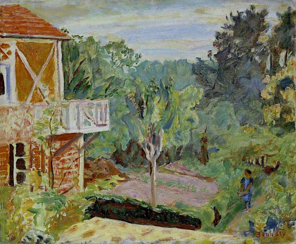 Bonnard — Lumière du soleil à Vernon (musée national du Pays de Galles, Cardiff)