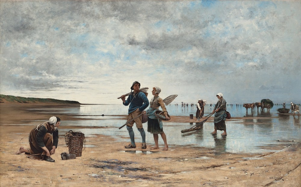 August Hagborg ( 1852-1921) ( Bukowskis)