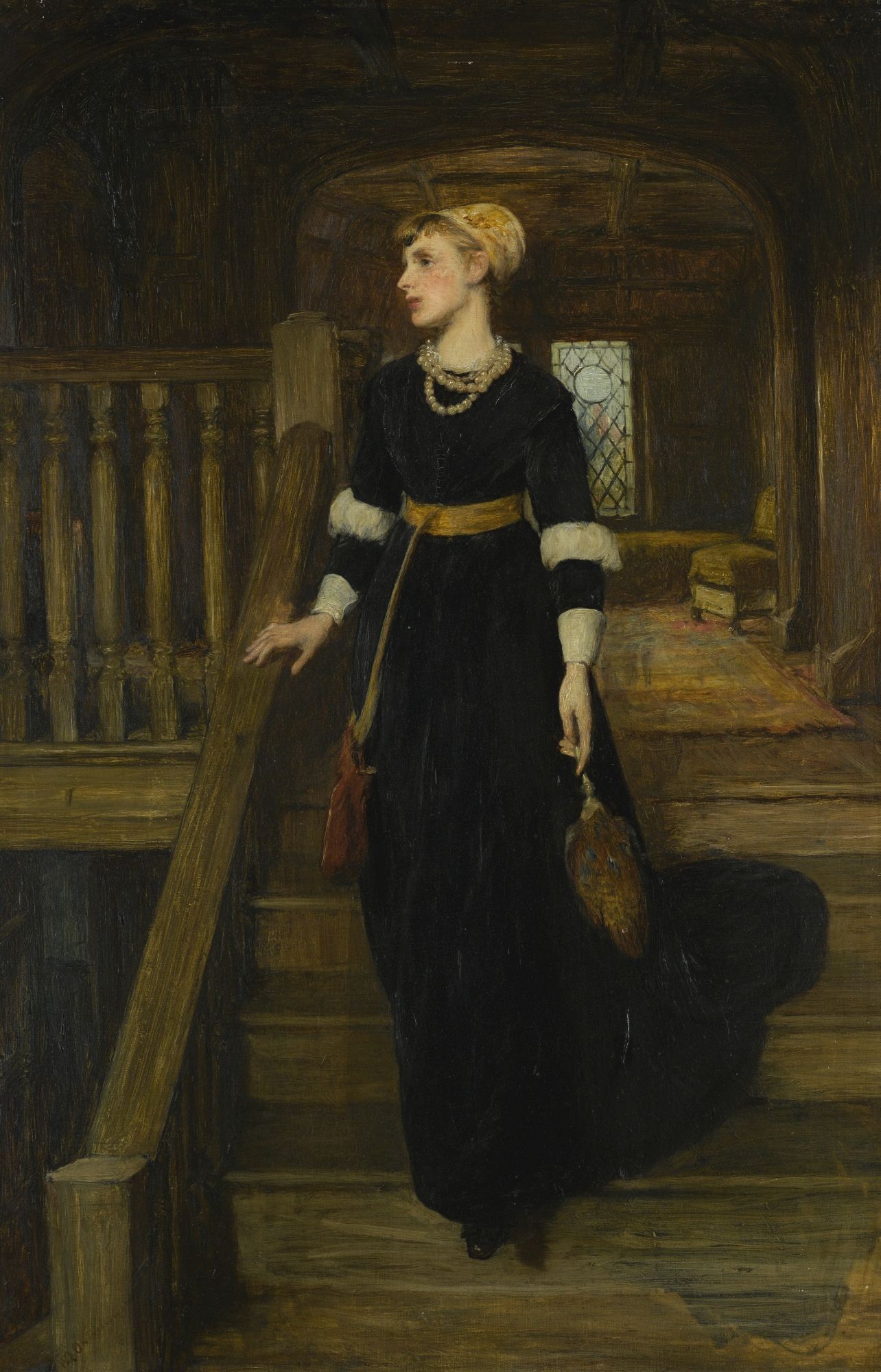 SIR WILLIAM QUILLER ORCHARDSON, R.A., H.R.S.A.- AMY ROBSART