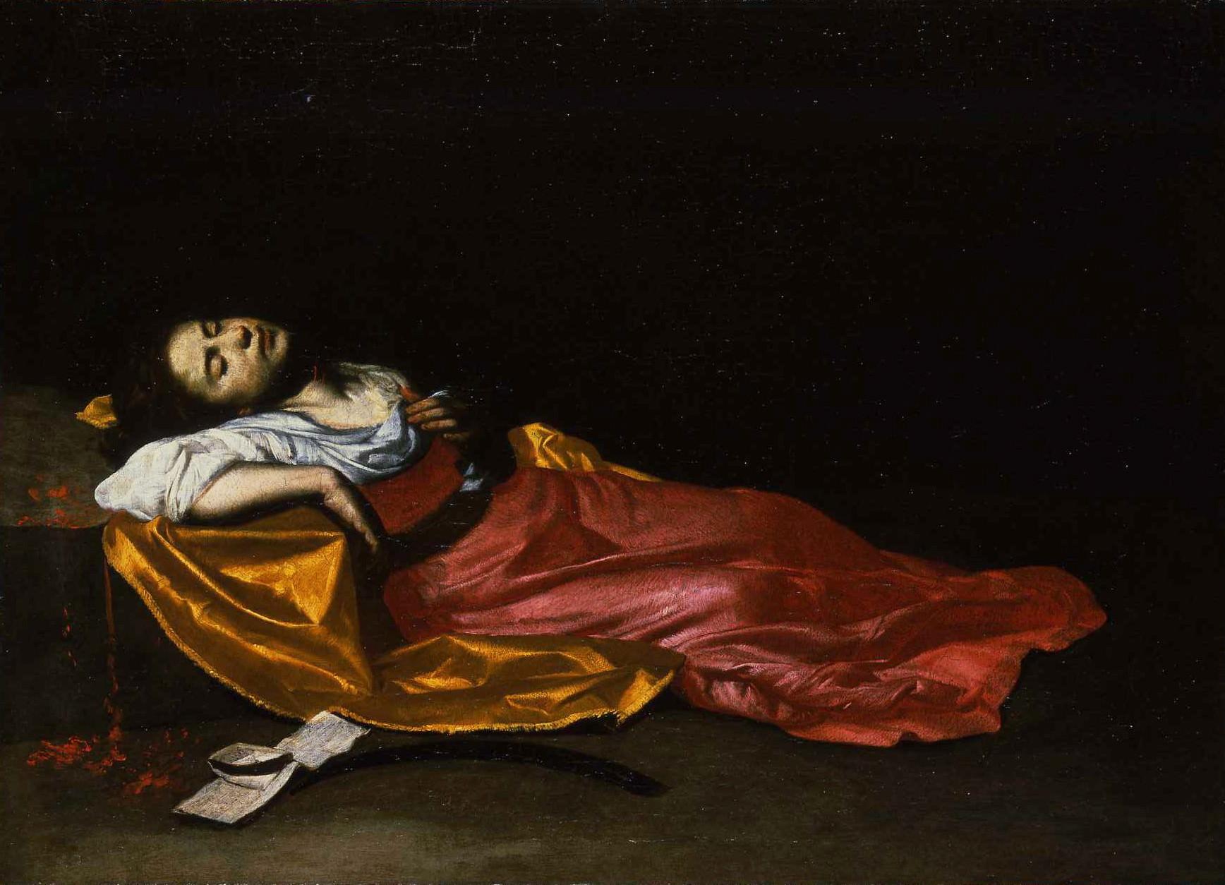 Francesco Guarino (1611 – 1651 / 1654). Martyrdom of Saint Cecilia, c. 1650, Museum of Grenoble