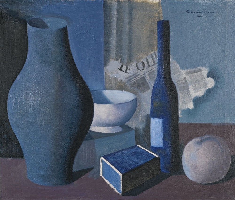 Феликс Нуссбаум (Felix Nussbaum) - Still Life with Boxes, 1941. (Sotheby's, London)