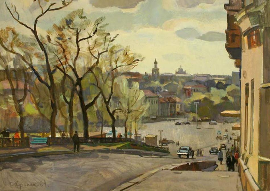 Апрель. Трубная площадь. 1964 (фото: yavarda.ru)