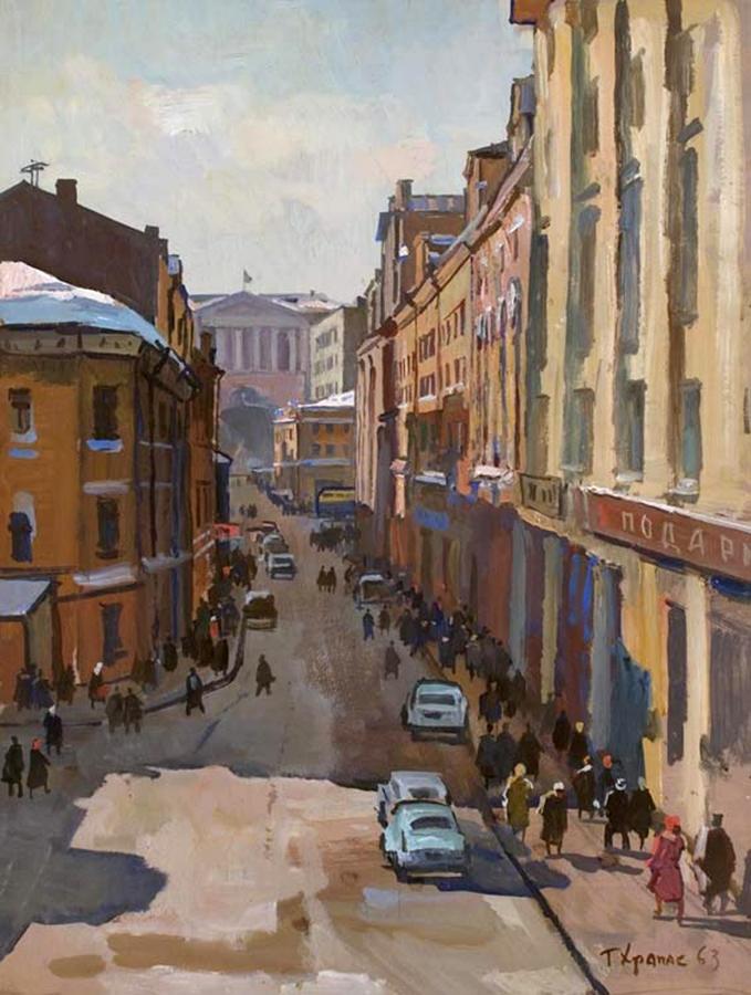 Столешников переулок. 1963. (фото: yavarda.ru)