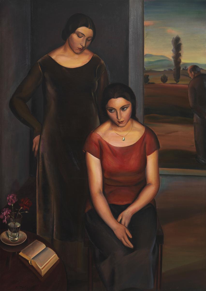 Meditazione,  1925