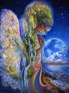 Josephine Wall, Sadness of Gaia
