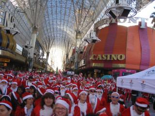 Las Vegas Great Santa Run 2008