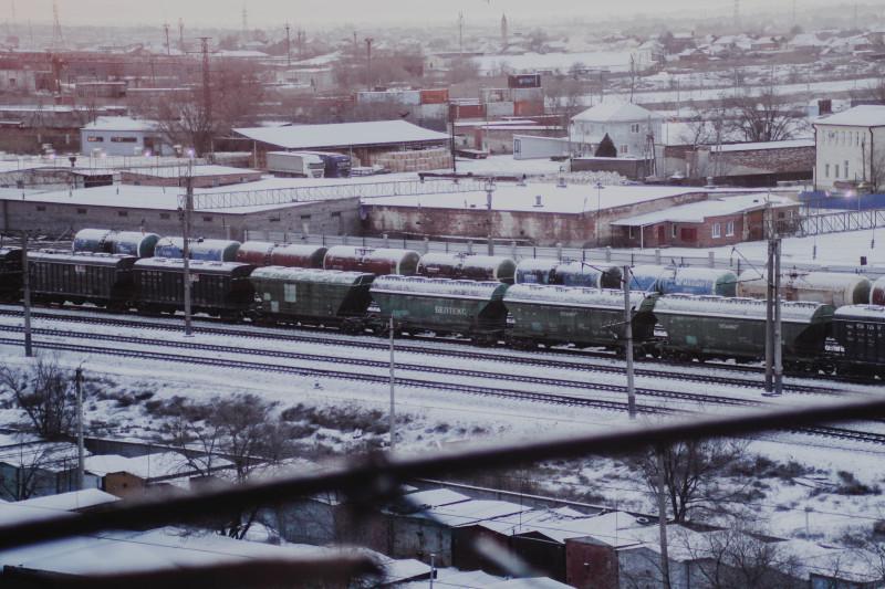 Вид с балкона 10.03.2021