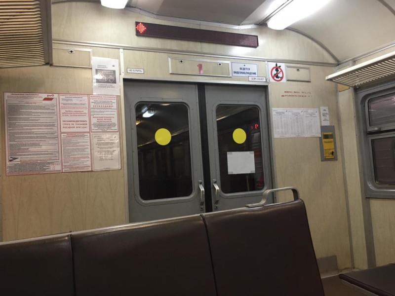 Последний вагон электрички Аксарайский-Кутум