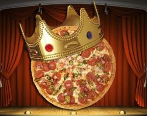 Королевская пицца
