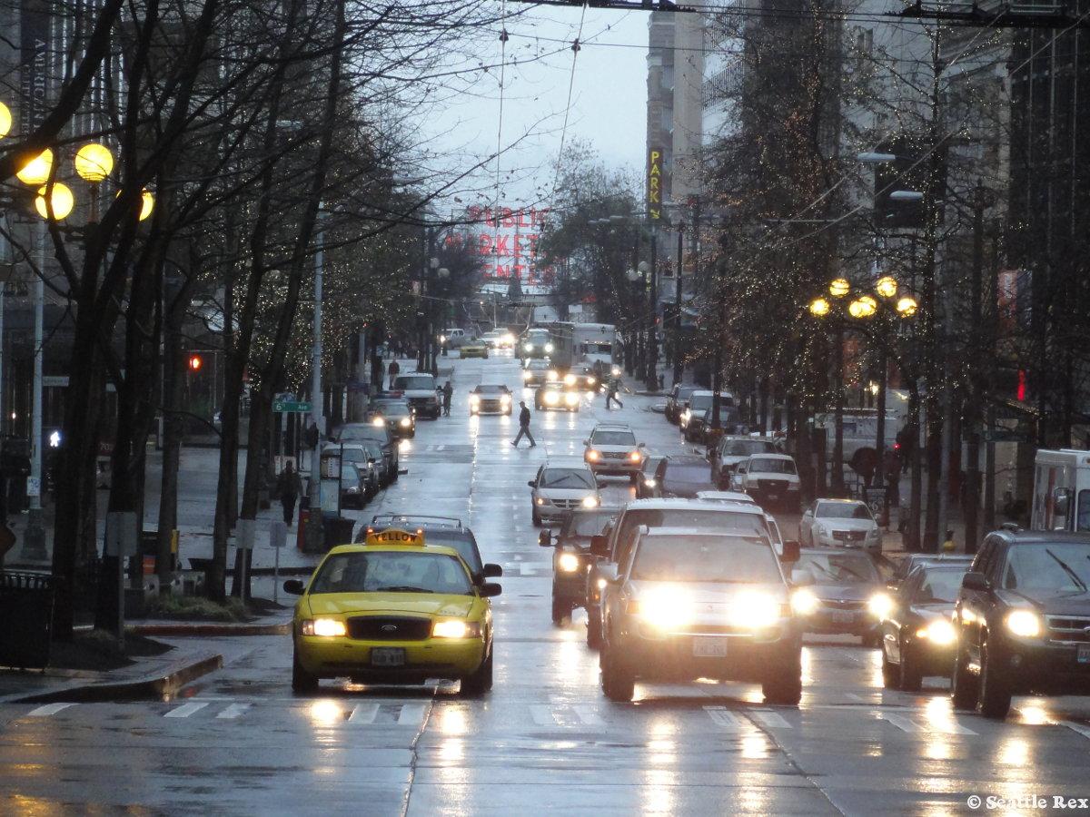 seattle rain 2014