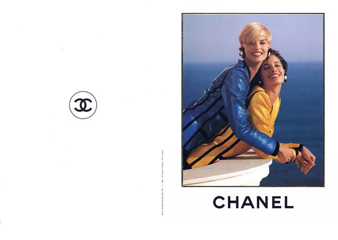 Chanel primavera verão 1991