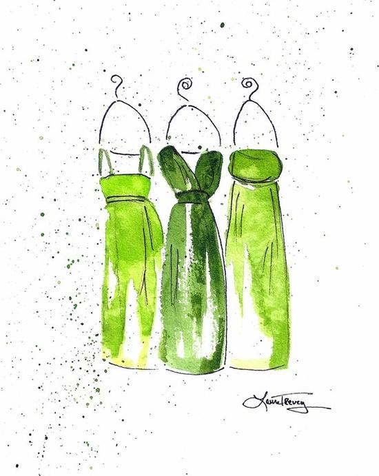 madrinha vestido verde