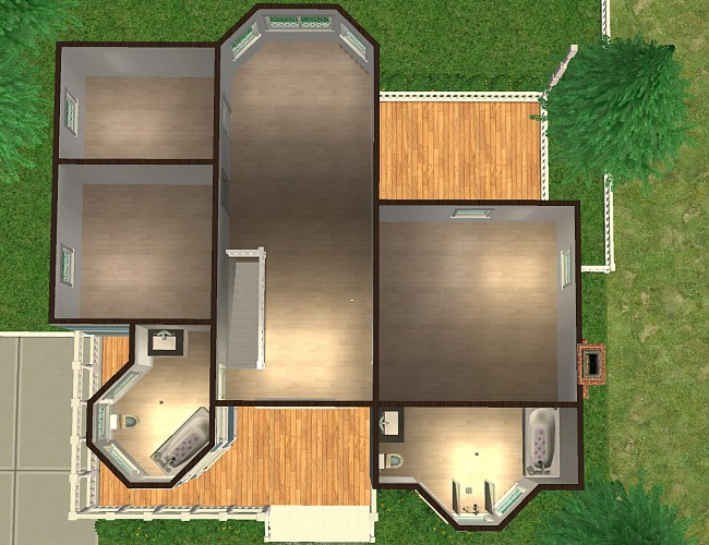 Mod the sims the architect final rankings winner s for Living room 5x3