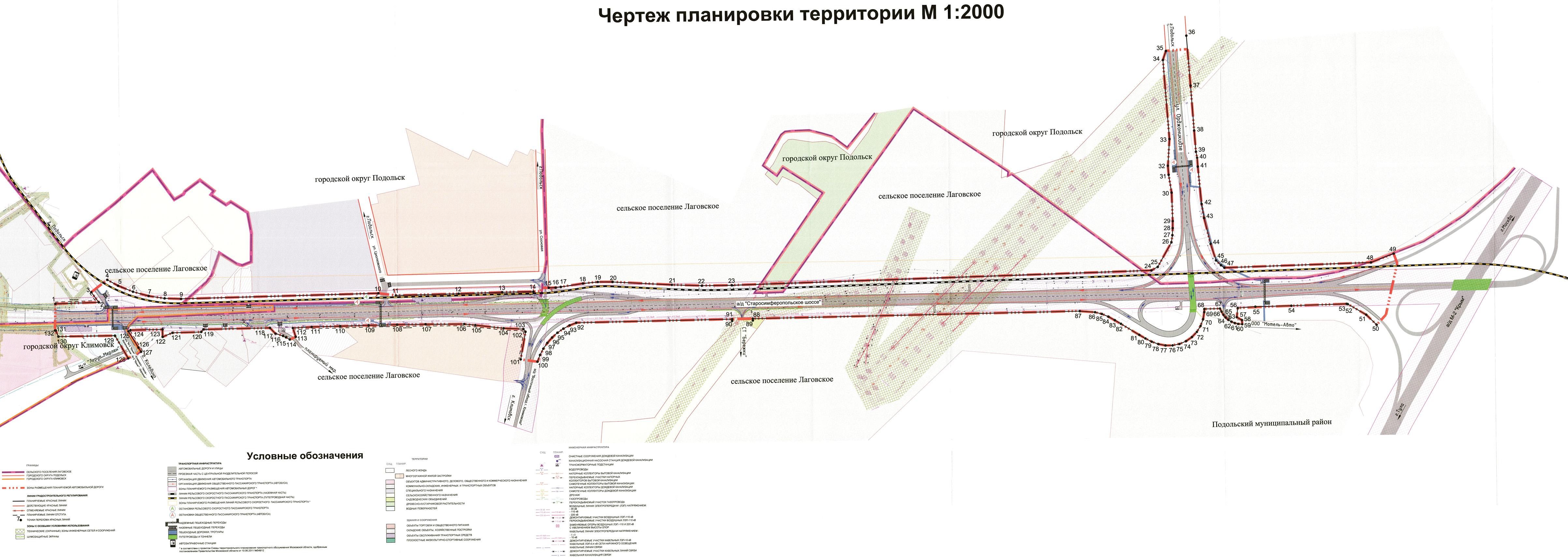 """Строительство новой дороги в обход Подольска связано с новым микрорайоном Подольска  """"Кузнечики """". http..."""