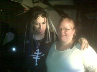 Rogue (Crüxshadows) and Millie NYC 2008