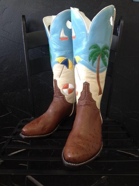 Bucks Custom Boots