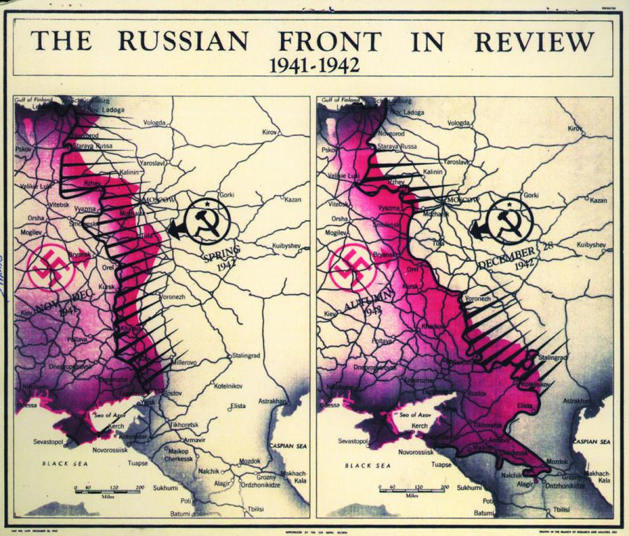 Карты XX-XXI века от Картографического центра ЦРУ