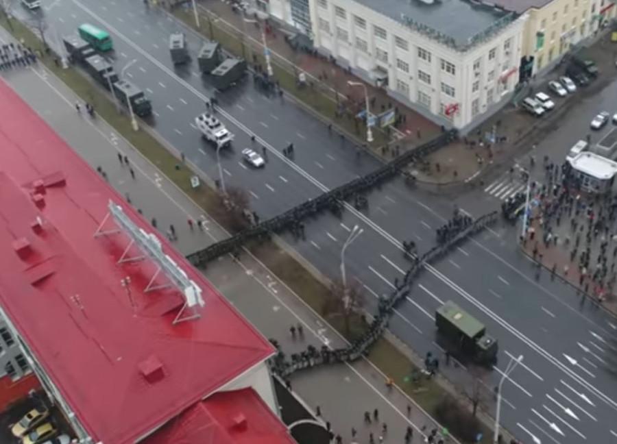 """""""День воли"""" с квадрокоптера"""