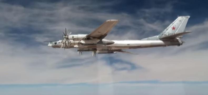 Ту-95 МС наносят удар крылатыми ракетами XА-101