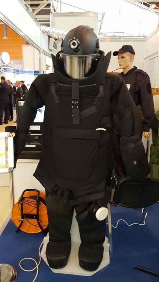 Защитный костюм сапера 6-го класса