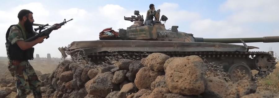 Зачистка ИГИЛ на юго-западе Сирии