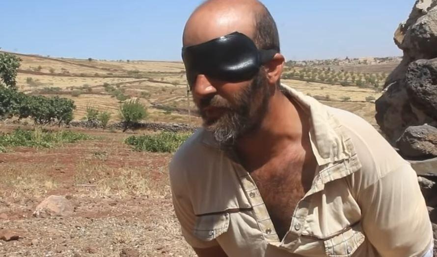 Допрос пленного в Сувейде