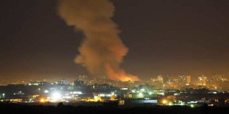 Удары Израиля в районе Дамаска. 01.07.2019