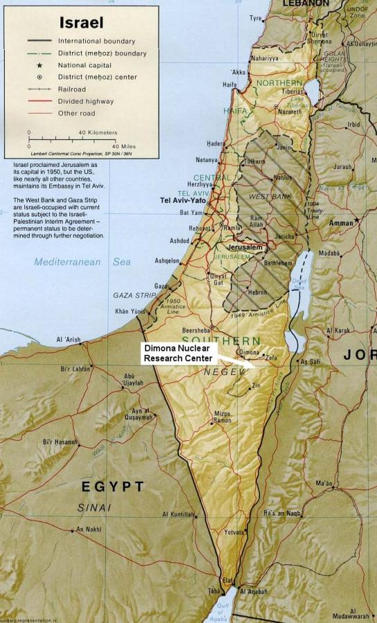 """Удар по израильскому ядерному центру """"Димона"""". Американские комплексы ПВО Patriot и израильский Железный Купол не сработали 2848771_900"""