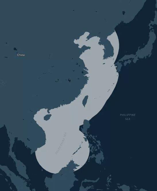 Здесь и далее, рост возможностей https://amti.csis.org/power-projection-network/ китайских радаров, ракетных и авиационных систем по проекции силы в регионе.