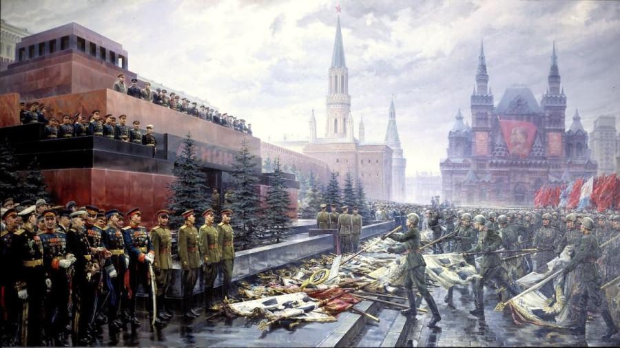 Эстафета военных парадов