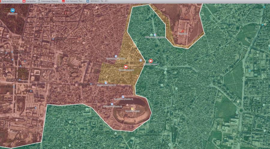 Штурм Алеппо. 30.09.2016
