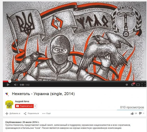 FireShot Screen Capture #753 - 'Нежеголь - Украина (single, 2014) - YouTube' - www_youtube_com_watch_v=SUj6C1EBVLA