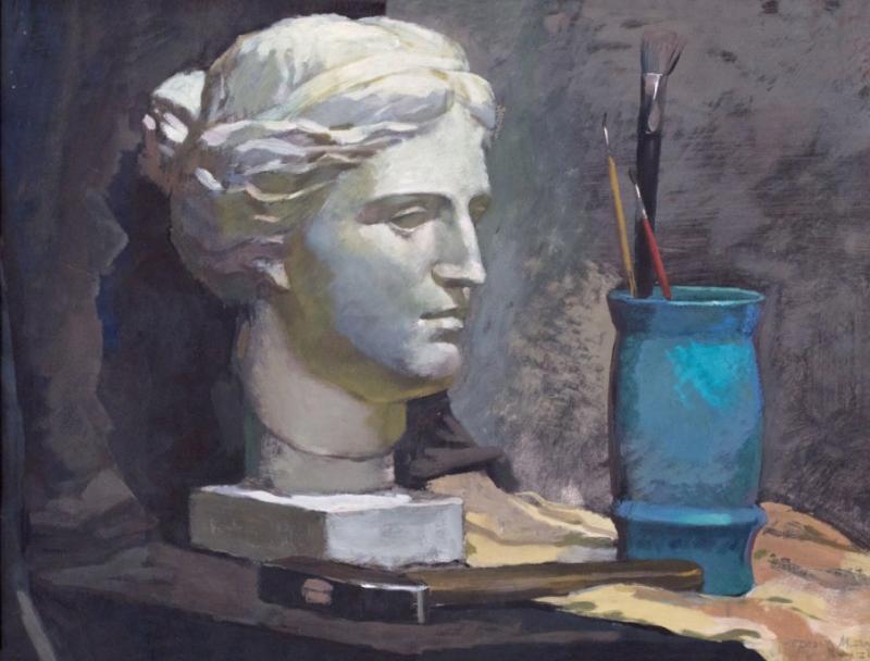 Лучшие работы кафедры живописи взяты с официального сайта МГХПА им.Строганова