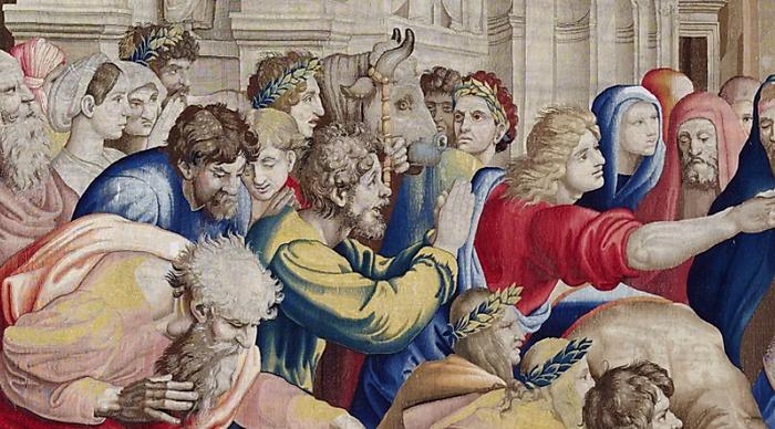 Ян ван Тигем, Франс Гетилс и Рафаэль.Источник: patrimonionacional. es