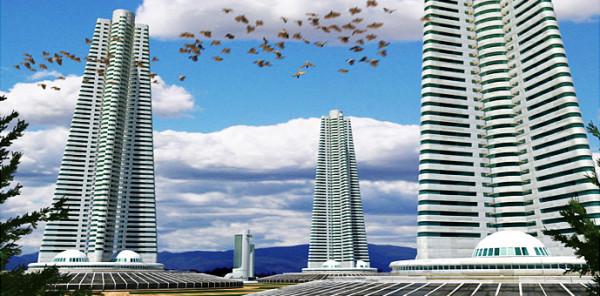 в России экспериментальный Город Будущего