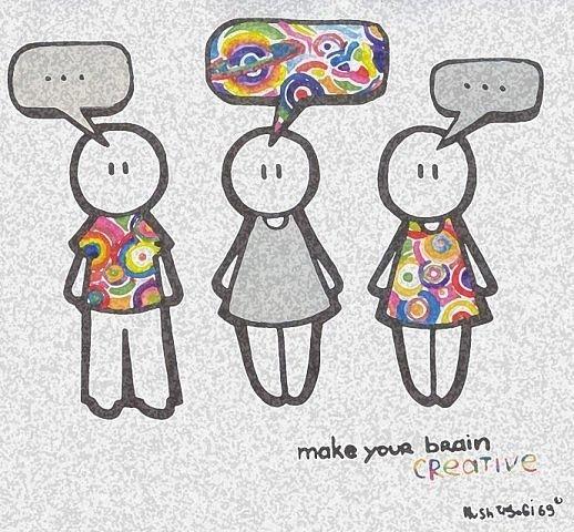 цветные мысли