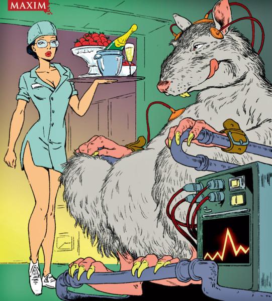 10 опытов над мышами