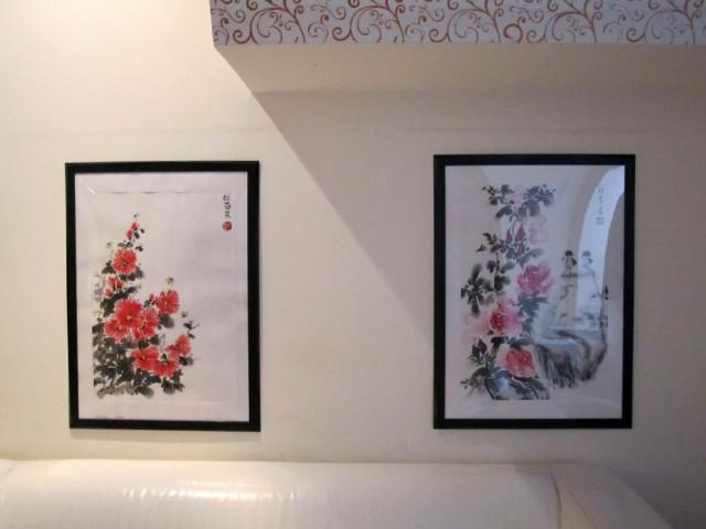 Елена Касьяненко, китайская живопись, живопись У-Син, розы, хризантемы