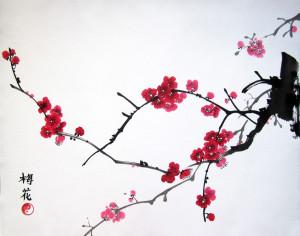 Елена Касьяненко. Четыре благородных: орхидея, бамбук, хризантема, слива. Китайская живопись гохуа