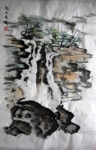 Пейзажи. Горы - воды. Китайская живопись. Пленэры. Елена Касьяненко