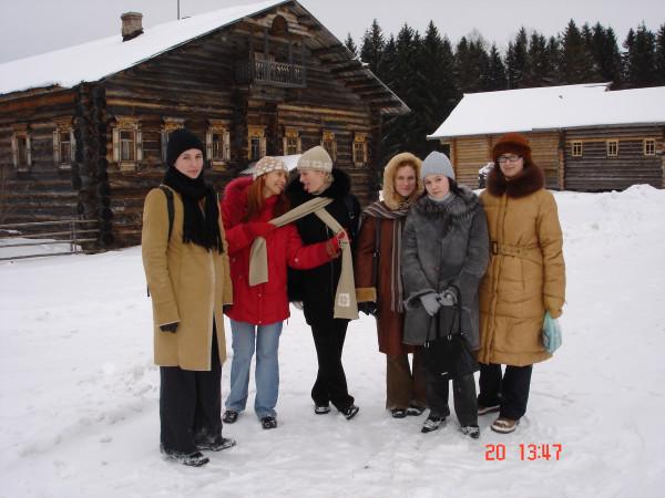 Социологическая практика в Вологде 2005г. Экскурсии