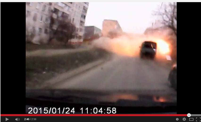 2.46  взрыв №3 на дороге