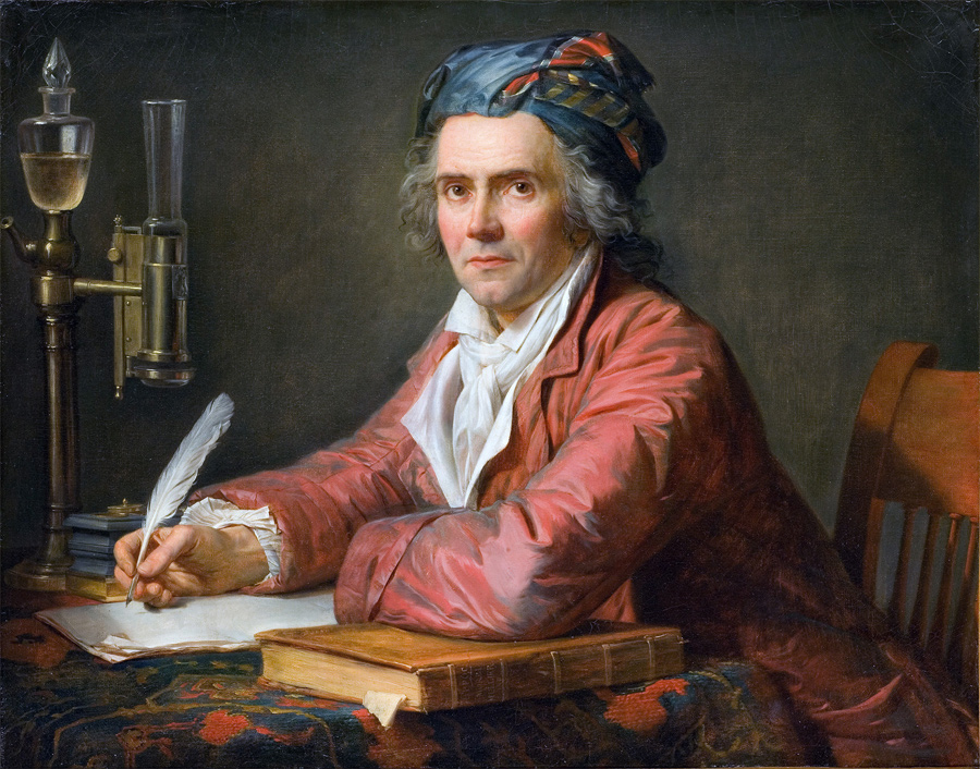 """Жак-Луи Давид, """"Портрет доктора Альфонса Лероя"""", 1783 г"""