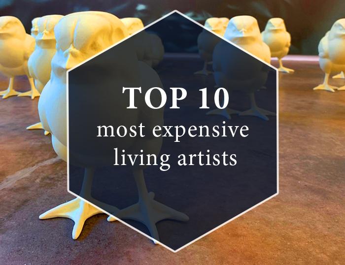 10 самых дорогих ныне живущих художников и Что это значит