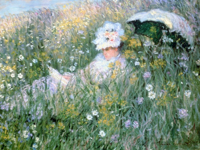 "Claude Monet, ""In the flower meadow"", 1876"