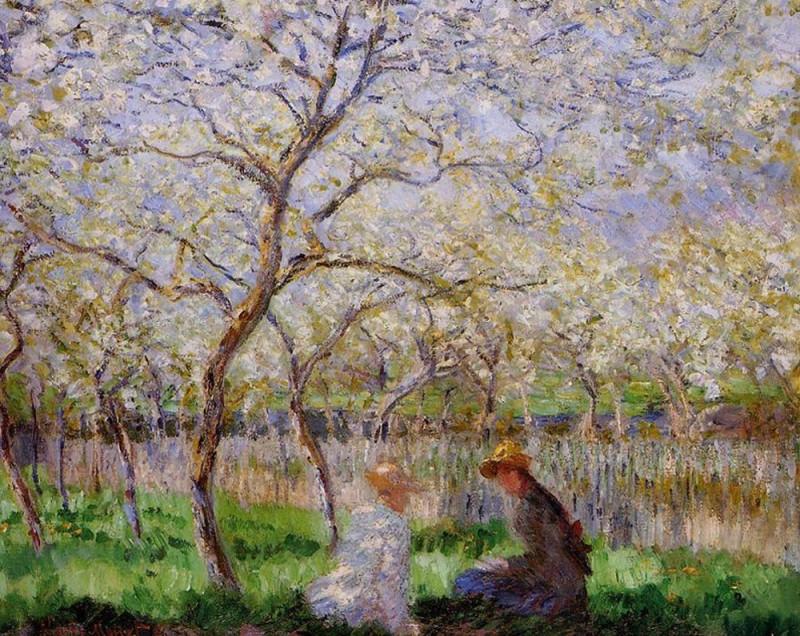 """Claude Monet, """"Springtime"""", 1886"""