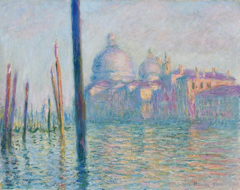"""Claude Monet """"Le Grand Canal"""", 1908"""
