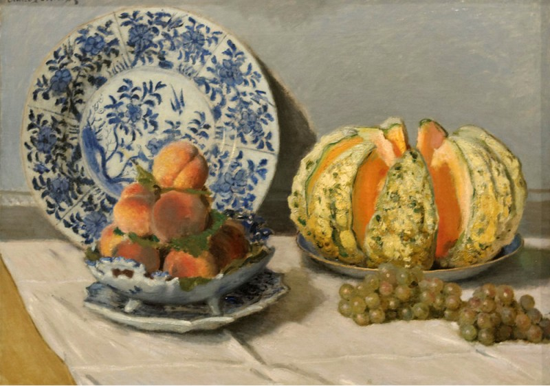 "Claude Monet, ""Still Life with Melon"", 1872"
