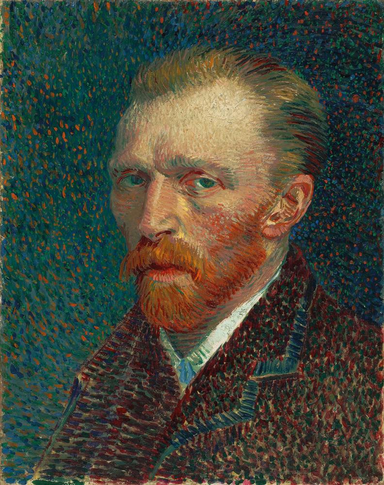 Автопортрет Винсента Ван Гога 1887 года.